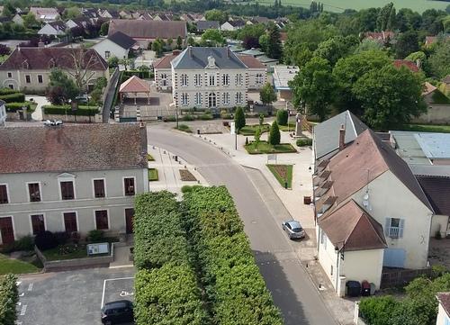 La mairie et l'école